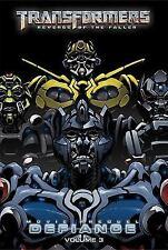 Transformers: Defiance 3 (Transformers: Revenge of the Fallen: Movie Prequel: De