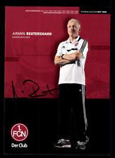 Armin Reutershahn Autogrammkarte 1 FC Nürnberg 2013-14 Original + A 108560