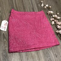ANN TAYLOR Loft Women's Above Knee Skirt - Pink Size 6 (B006)