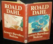Roald Dahl George's Marvellous Medicine 1st UK Edition in D/J 1981