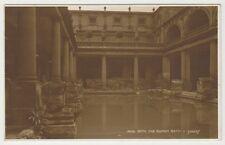 Somerset postcard - Bath, The Roman Bath P/U 1916 (A316)