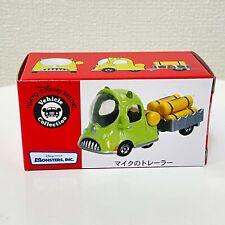 TOMICA Disney Pixar Mike Wazowski Trailer Vehicle Mini Car Tokyo Disneyland