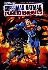 NEW DVD // Superman/Batman: Public Enemies // 67 min //  DC UNIVERSE