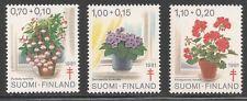 Finland #B224-B226 (SP122) VF MNH - 1981 Flowers