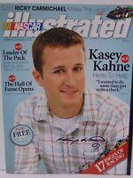 RARE 2010 KASEY KAHNE SIGNED AUTOGRAPHED NASCAR ILLUSTRATED MAGAZINE WITH COA