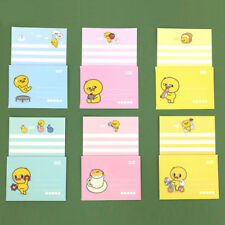 mini Cute Baby Duck Letter set - 4sh Lined writing stationery paper 2sh Envelope
