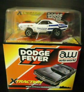 Rare_AUTO.W AFX [ DODGE FEVER- 71 CHALLENGER ] 4-Gear Chassis! Rare STAND! >U.S!