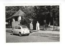 Fiat 500. Couple. Berlin, 1959. Vintage photo G735