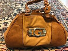 Brand new Guess brown satchel bag womens purse authentic