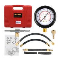 TU-113 Auto Petrol Gasoline Fuel Injection Pump Pressure Gauge Tester 0-100PSI