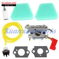 545006017 Carburetor for Poulan Craftsman Trimmer # Zama C1U-W32 Air Filter Kit