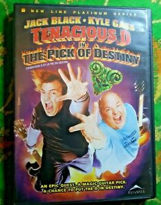 """""""TENACIOUS D IN THE PICK OF DESTINY"""" JACK BLACK - KYLE GASS - DELUXE EDITION DVD"""