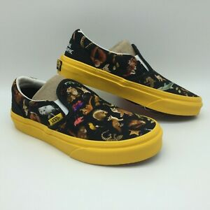 "Vans Kid's Shoes ""Classic Slip-On"" -- (National Geographic)Phtark"