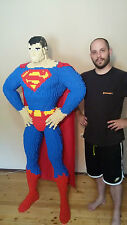 LEGO Superman Life-size Statue building instructions