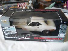ERTL 1970 Dodge Challenger R/T Vanishing Point Dirty version 1:18 Diecast