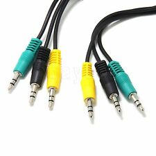 New Logitech X540 Speakers Color Coded 3 Minijack Audio Cable 3.5mm