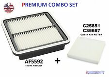 ENGINE & CABIN AIR FILTER COMBO SET FOR 2010 - 2016 SUBARU OUTBACK LEGACY