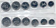 SET ERITREA 1997 (1,5,10,25,50 y 100 céntimos) SIN CIRCULAR / UNC