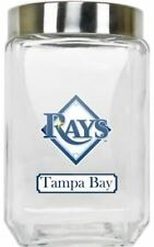Tampa Bay Rays Jar Glass Canister Large Container With Lid Duckhouse MLB