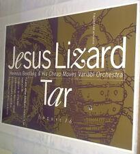 Jesus Lizard + Tar 1992 LIVE CONCERT GIG POSTER Original, 25 years old & MINT