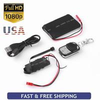 1080P HD DIY Module SPY Hidden MINI DV DVR Video Camera Motion Remote Control RA