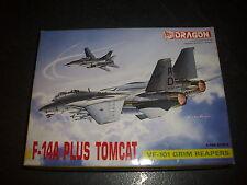 DRAGON F-14A PLUS TOMCAT PLASTIC MODEL 1/144
