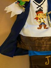 DISNEY Jake e la Neverland Pirati Costume Età 1-2 anni