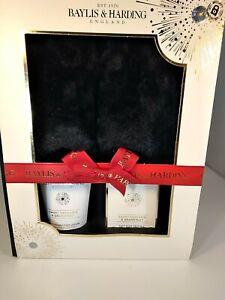 BAYLIS & HARDING Gift Set For Women Foot Lotion,Foot Soak Crystals & Slippers Uk