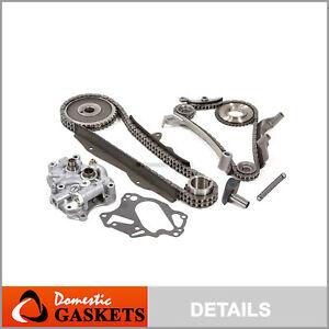 76-89 Dodge Chrylser Plymouth 2.6L SOHC Timing Chain Oil Pump Kit G54B