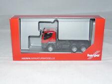 herpa 310581 Iveco Trakker tractor 6×6 - rot 1:87 NEU + OVP