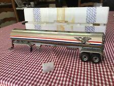 Franklin Mint Chrome All American Eagle Peterbilt Tanker Trailer B11Wt96 1:32