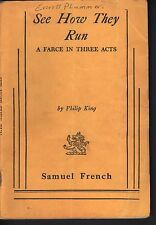 See How They Run 1947 Script