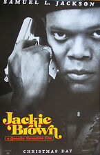 Tarantino's JACKIE BROWN - Original Double Sided Rolled 27 x 40 movie posterGlo