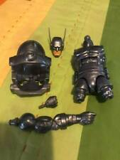 Marvel Legends Stilt Man BAF pieces: Torso, Helmet, Head, and Arm