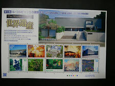 JAPAN POST STAMP/The World Heritage №10/July-14-2017