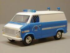 Racing Champions 1975 Chevy Van Prince Williams County VA Jail Transport