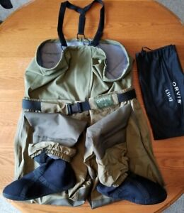 ORVIS TAILWATERS WADERS Size Large (Gently Used in Excellent Condition)