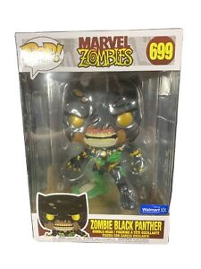 Funko Pop Marvel Zombies Black Panther #699 10 Inch Exclusive IN HAND SHIPS NOW