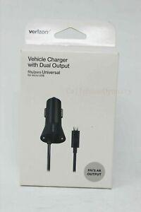 Verizon OEM Rapid Vehicle Car Charger w/ Micro USB for Galaxy S6 S7 Edge NEW