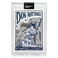 Topps PROJECT 2020 Card 95 ~ 1984 Don Mattingly by Mister Cartoon ~ PR: 27299