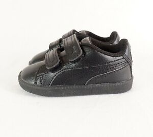 Puma Classic Black Trainers Pre-Walker Baby Infant UK3 EU19