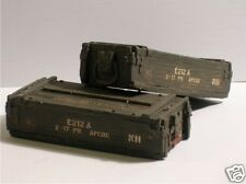 1/16 Scale 17 Pdr Resin Ammunition Boxes(2 unpainted) with Decals!
