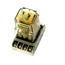 SQUARE D 8501-KP12 RELAY WITH DAYTON 5X852E SOCKET, 8501KP122PDT