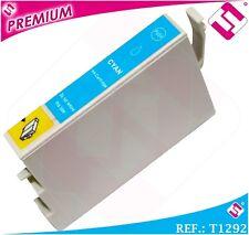 TINTA CIAN T1292 1292 XL COMPATIBLE IMPRESORAS CARTUCHO AZUL NOOEM NO ORIGINAL