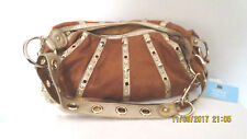Kathy Van Zeeland Leather Purse New With Tags,Cinnamon_Hobo Bag Ships_FREE