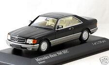 1/43 scale Minichamps 400035121 Mercedes Benz 560 SEC C126 1986 black MIB