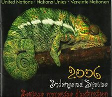 Nations Unies Uno Serpents Caméléons Grenouilles Frogs Snakes ** 2006 Album
