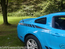 05 10 2012 2014 Mustang Faded Strobe Rear Quarter stripes Stripe Graphics Decals