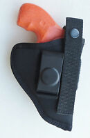 "Inside Pants IWB Gun Holster for CHARTER ARMS BULLDOG & PUG 2 1/2"" Barrel"