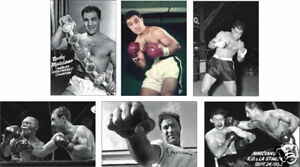 Rocky Marciano Boxing Legend 6 Card POSTCARD Set
